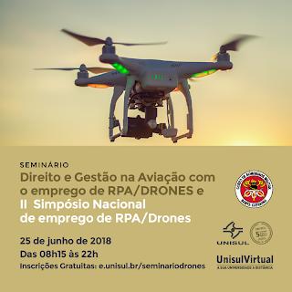 2º Simpósio Nacional de emprego de RPA/Drones